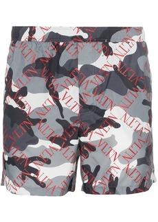e6d5e59151 Valentino Men's Uomo Camouflage Swim Trunks | Swimwear