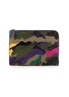 Valentino Camouflage Logo Wallet