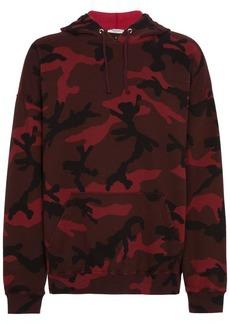 Valentino camouflage printed hoodie