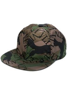 Valentino camouflage VLTN printed cap