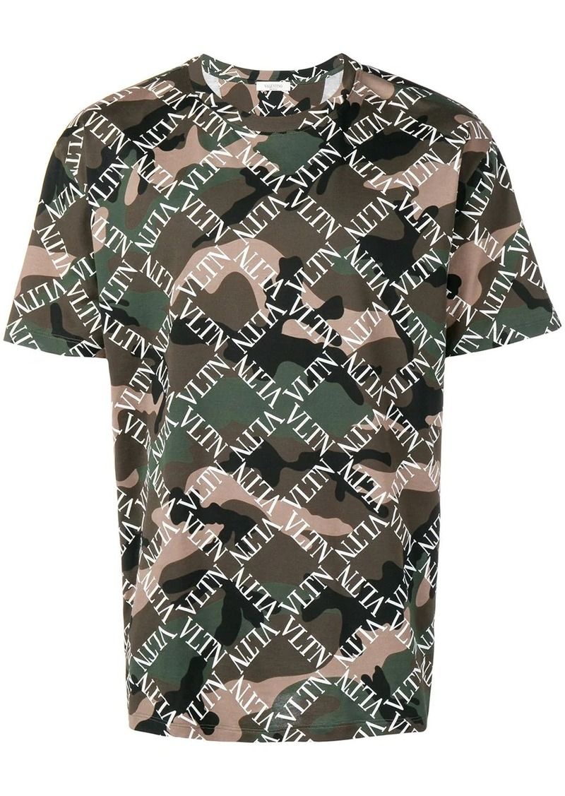 Valentino camouflage VLTN printed T-shirt