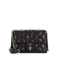 Valentino Candy Stud Leather Crossbody Bag