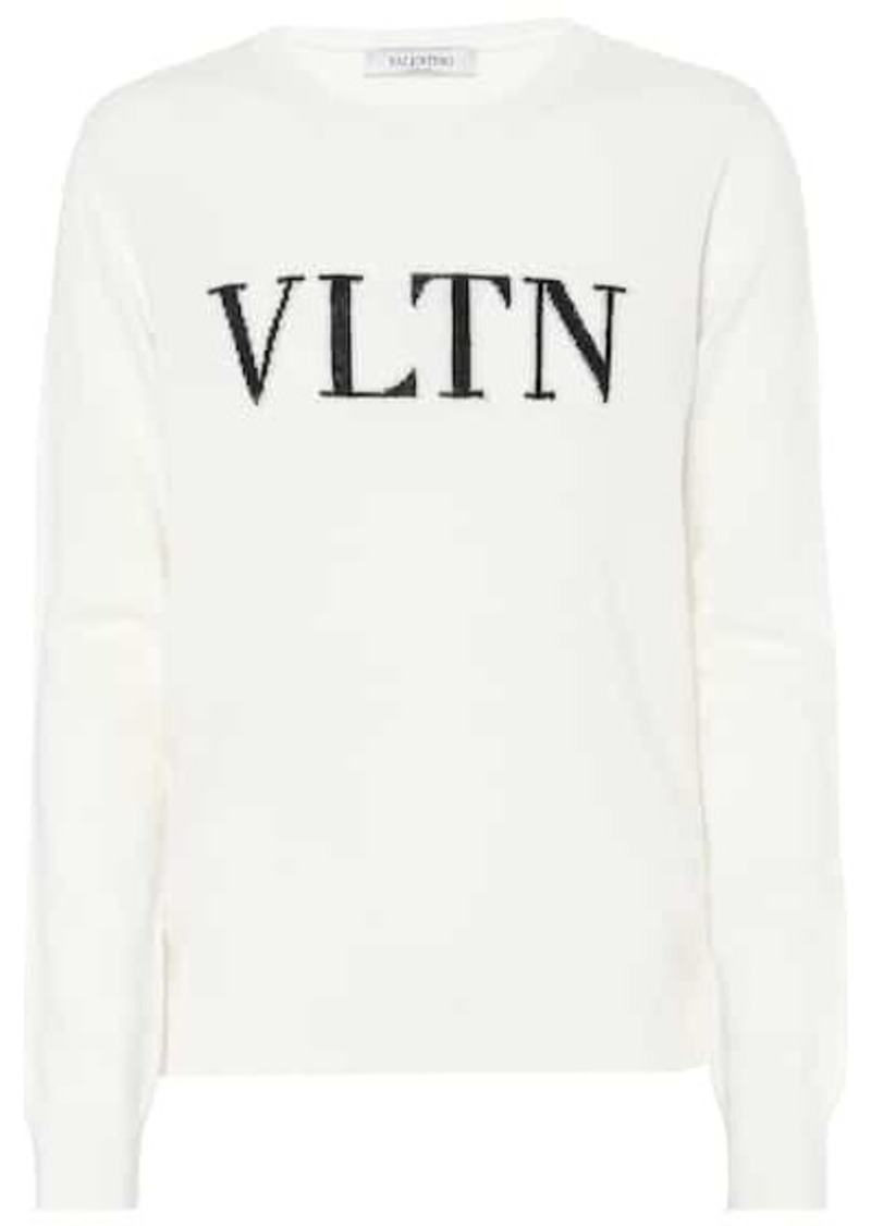Valentino Cashmere and wool-blend sweater