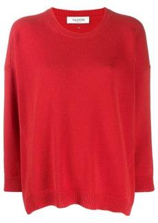 Valentino cashmere crew-neck sweater