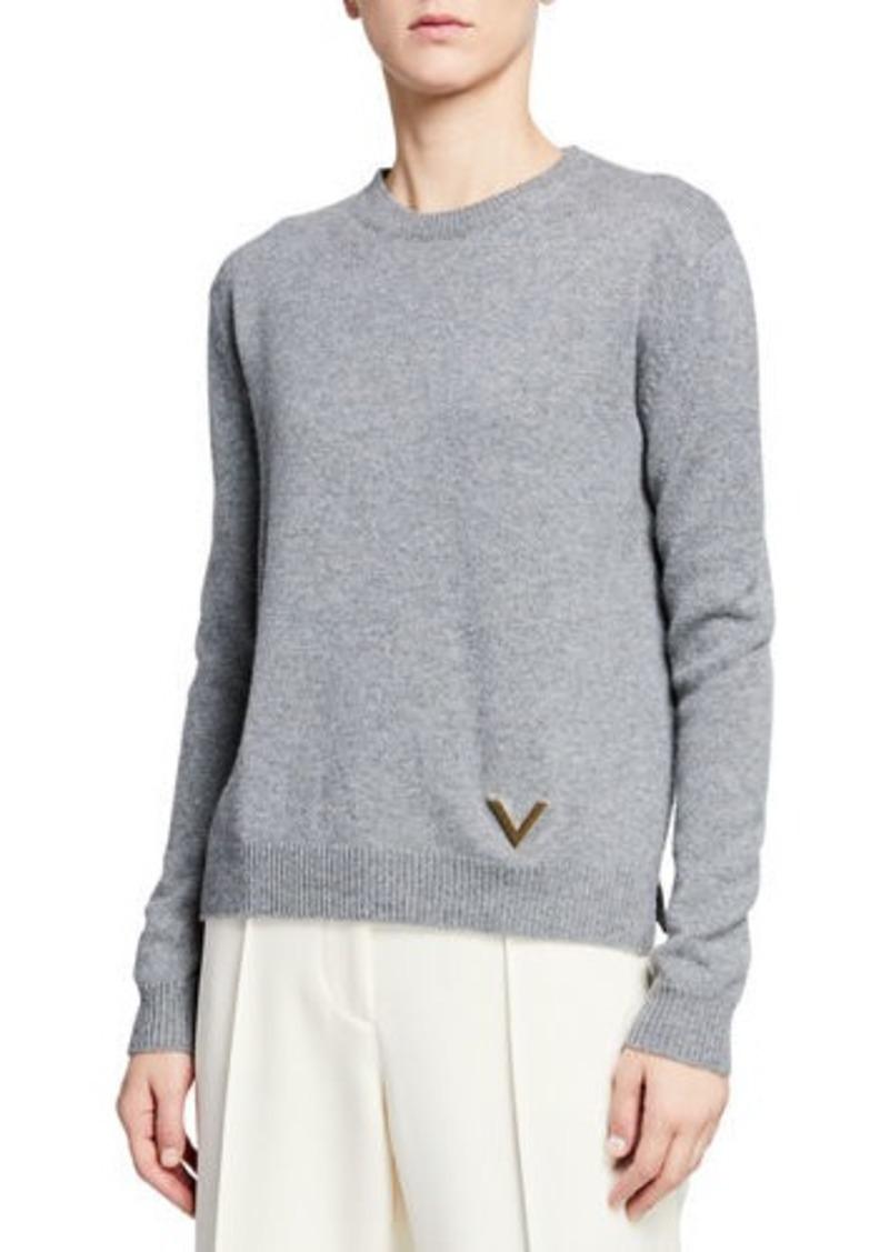 Valentino Cashmere Crewneck Sweater