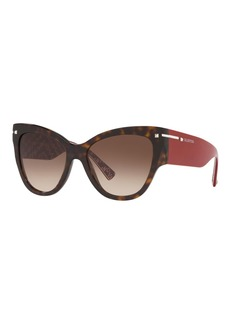 Valentino Cat-Eye Acetate Sunglasses