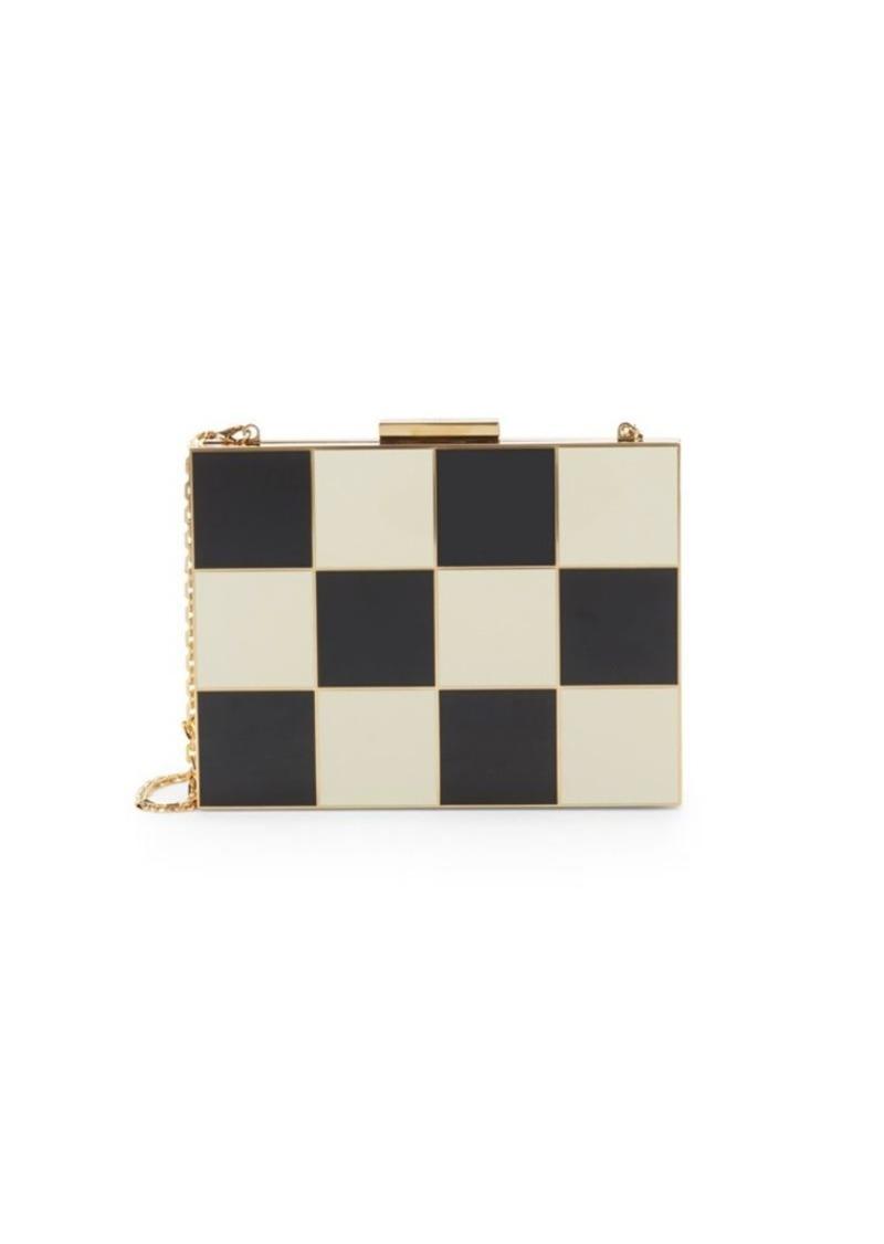 Valentino Checkered Convertible Clutch