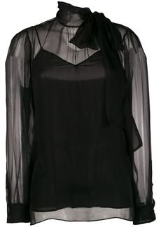 Valentino chiffon shirt