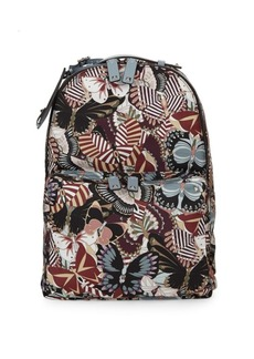 Valentino Classic Printed Backpack