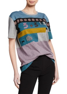 Valentino Colorblock Cotton T-Shirt