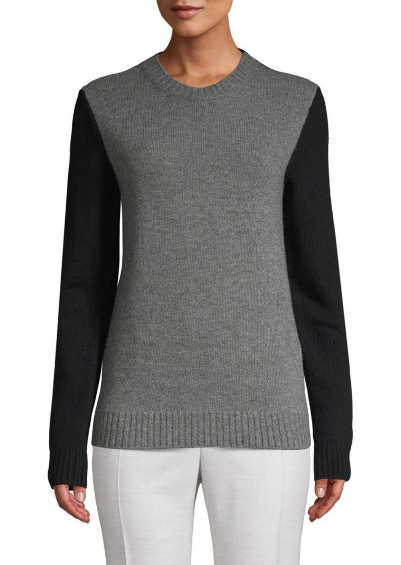 Valentino Colorblock Wool & Cashmere-Blend Sweater