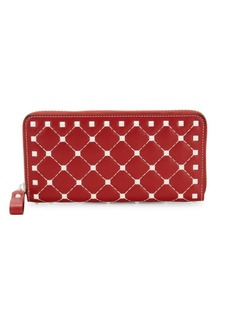 Valentino Continental Leather Wallet