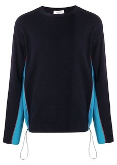 Valentino contrast panel jumper