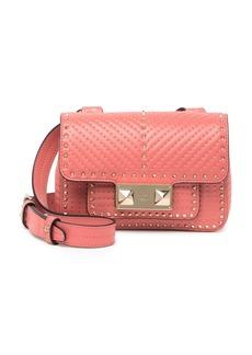 Valentino Convertible Mini Leather Crossbody Belt Bag