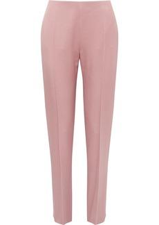 Valentino Crepe Straight-leg Pants
