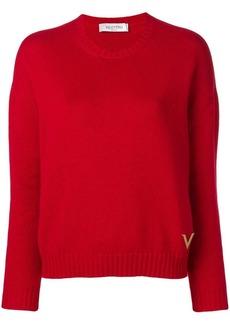 Valentino crew-neck cashmere jumper
