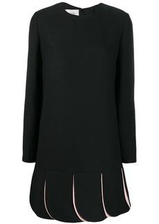 Valentino crêpe couture dress
