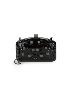 Valentino Crystal-Embellished Shoulder Bag