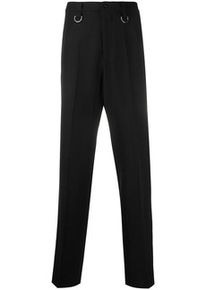 Valentino D-ring straight trousers
