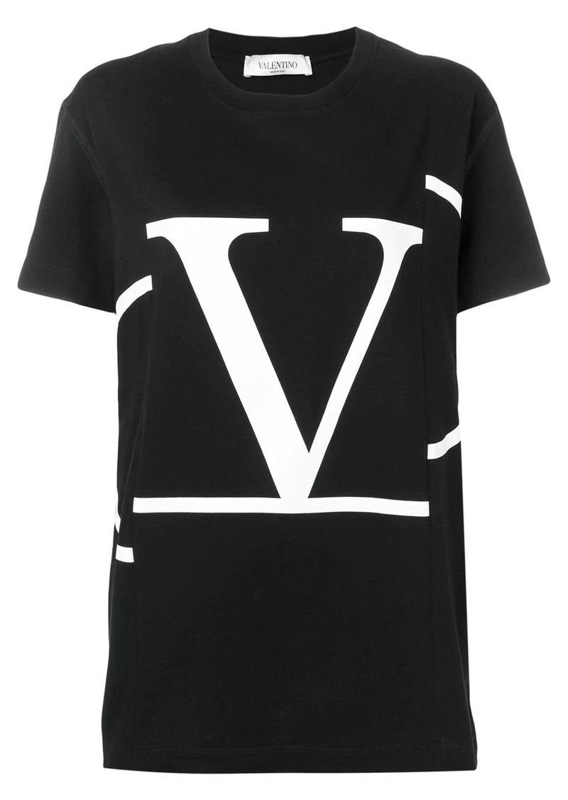 Valentino deconstructed VLOGO T-shirt