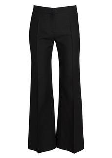 Valentino Demi-Flare Crepe Trousers