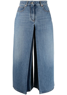 Valentino VGOLD wide-leg cropped trousers