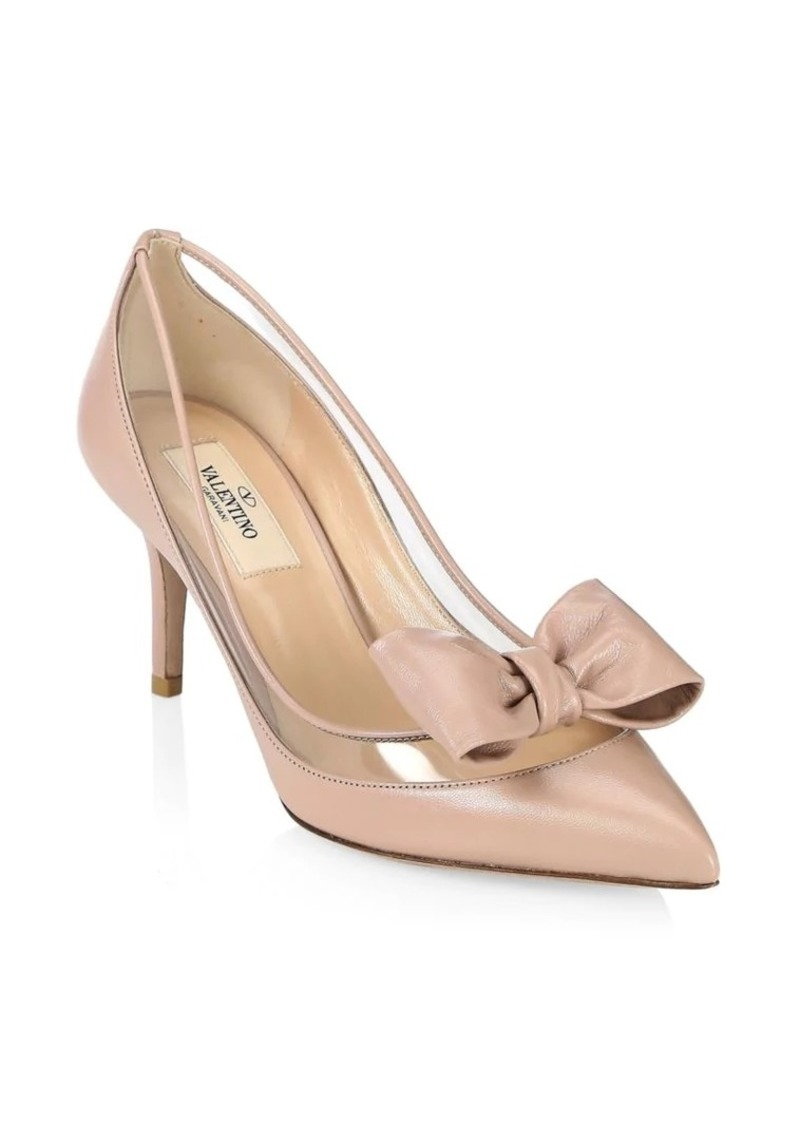 234d92682dd3 Valentino Dollybow Leather Pumps