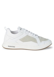 Valentino Donald Suede Sneakers
