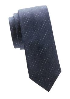Valentino Dotted Silk Tie