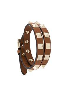 Valentino Garavani Rockstud double wrap bracelet