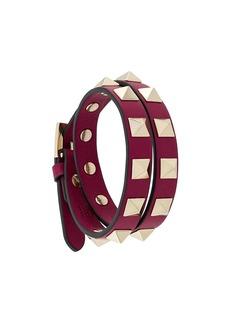 Valentino double wrap rocketed bracelet