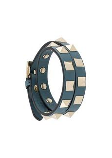 Valentino double wrap rockstud bracelet
