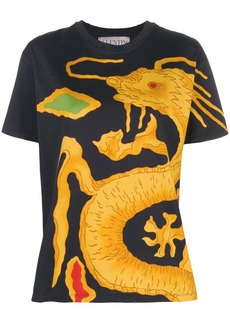 Valentino Dragon Re-edition printed T-shirt