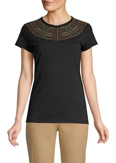 Valentino Embellished Cotton Top