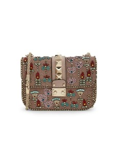 Valentino Embellished Crossbody Bag