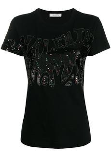 Valentino embellished logo T-shirt