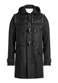 Valentino Embellished Wool Toggle Coat