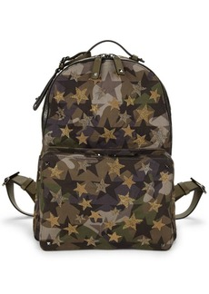 Valentino Embroidered Army Backpack