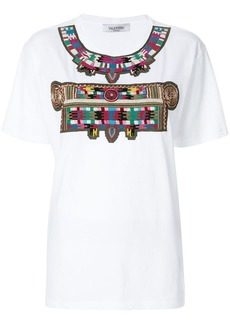 Valentino embroidered pattern T-shirt