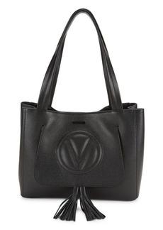 Valentino by Mario Valentino Estelle Dollaro Pebbled-Leather Tote