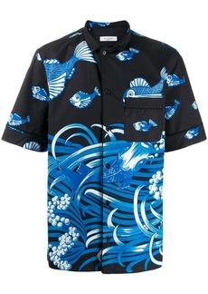 Valentino Fishrain-print shirt