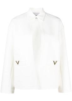 Valentino flared-sleeve blazer