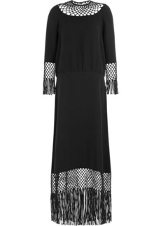 Valentino Floor Length Silk Dress