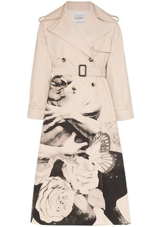 Valentino x Undercover Lovers print trench coat
