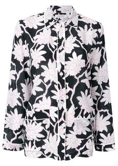 Valentino floral pyjama style top