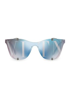 Valentino Frameless Mirrored Sunglasses