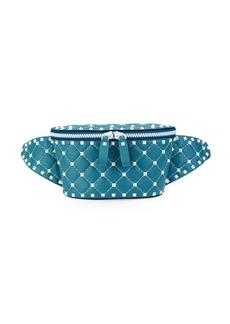 Valentino Free Spike Leather Belt Bag