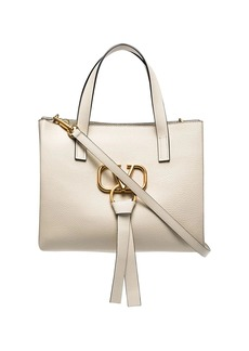 Valentino VRING small leather tote bag