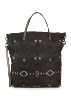 Valentino Geometric Tote Bag