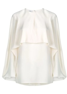 Valentino Georgette silk top